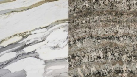 The difference between marble and granite