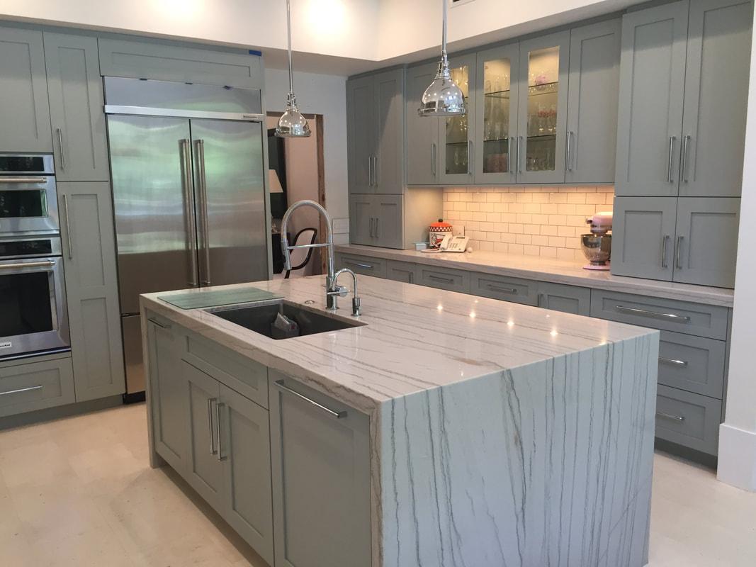 Quartzite Countertops Kitchen Install