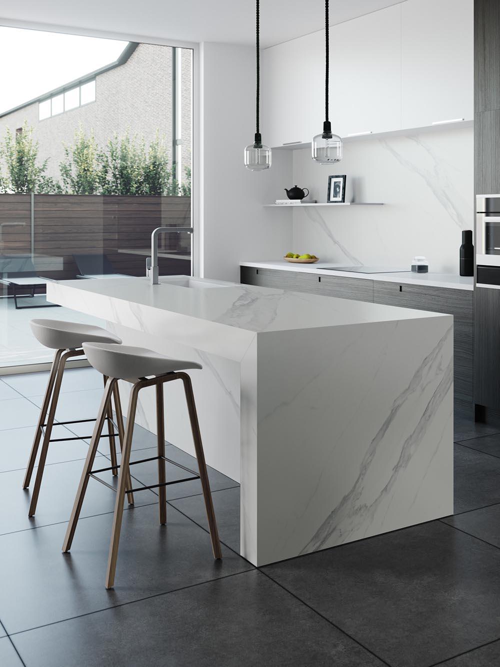 Dekton Kelya Natural Collection dekton countertops - crown marble
